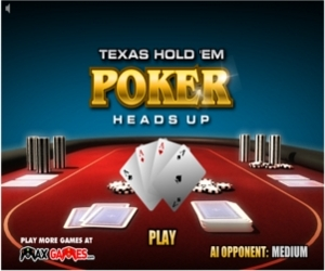 jeux poker heads up